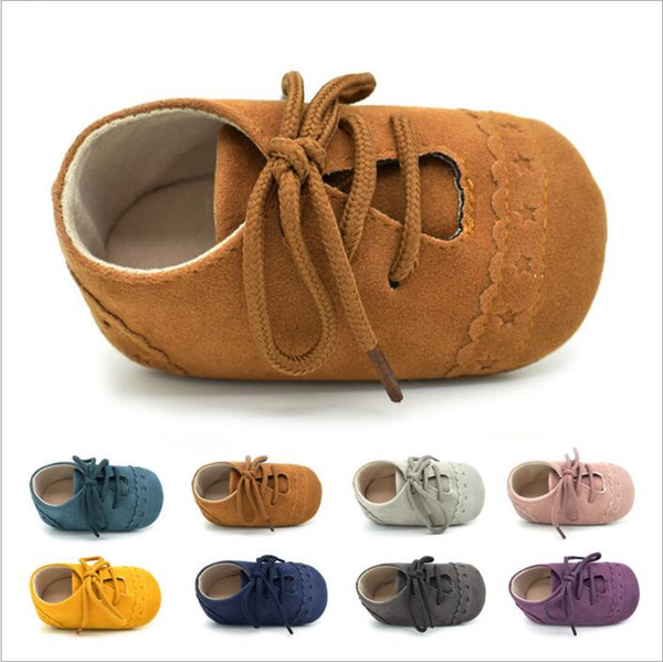 Toddler Shoes Baby Lace-up Shoes First Walkers Princess Prewalker Moccasins Girls Fashion Soft Indoor Shoes Kids Casual First Walkers B3165
