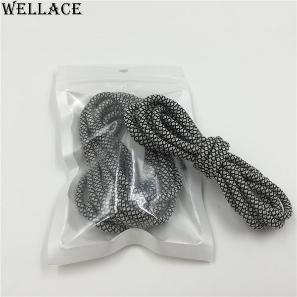 (30pairs/Lot)Wellace Fashion Luminous Glow In The Dark Shoelace Flat Athletic Shoe Laces party Gift Night Bootlaces Strings