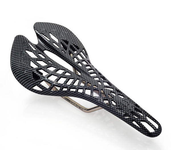 MTB/ROAD Spider Cycle Seat Saddle Black Color Bicycle Cycling Hollow Out Seat Saddle Plastic Surface new