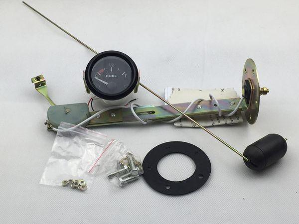 """Weiß 2 /""""52mm Kraftstoffstandsanzeige mit Kraftstoffsensor E 1//2 F Zeiger"""