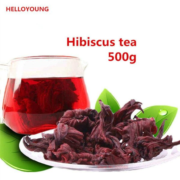 C-TS071 health care Roselle tea 500g hibiscus tea,2lb Natural weight loss dried flowers Tea,the products food tea