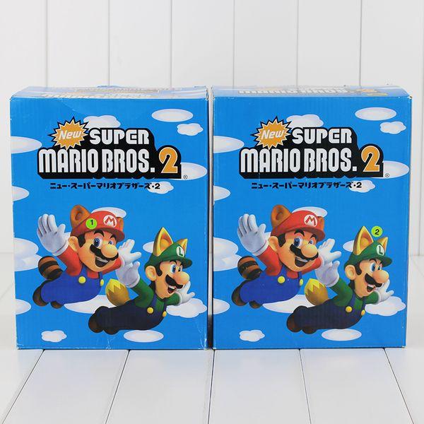 22cm Super Mario Bros 2 LUIGI Mario PVC Action Figure Collectable Model Toy for kids gift free shipping EMS
