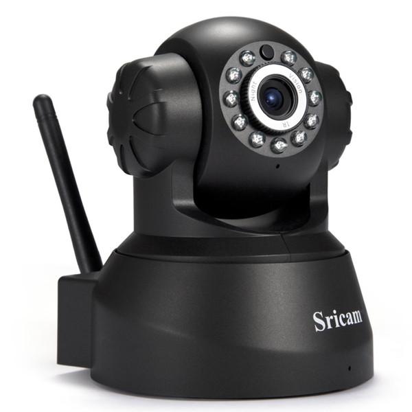Più nuovo Sricam SP012 Telecamera IP WIFI Onvif P2P Phone Remote 720P Home Security Baby Monitor 1.0MP Wireless Videosorveglianza Telecamere 1B