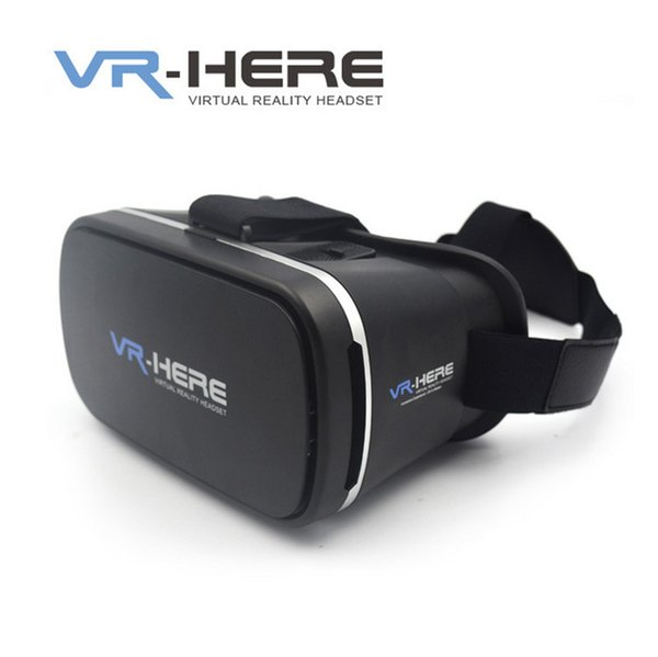 "Newest Google Glasses VR Virtual High-Quality Rift 3D Games Movie For 3.5 - 6.0"" Smart Phone IMAX Video Movies Games"