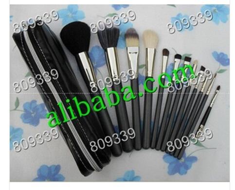 2016 NEW good quality Lowest Best-Selling good sale Makeup Brush 12 pcs Set Pouch Professional Brush