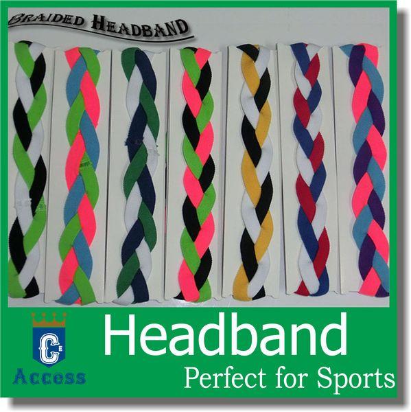 2019 Women's Outdoor Braided Headbands