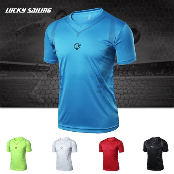 Wholesale-2016 New Coolmax Fashion Men t shirt Outdoor Sports Male Tops Quick Dry Hiking Shirt Men Short Sleeve For Hiking Camping Cycling