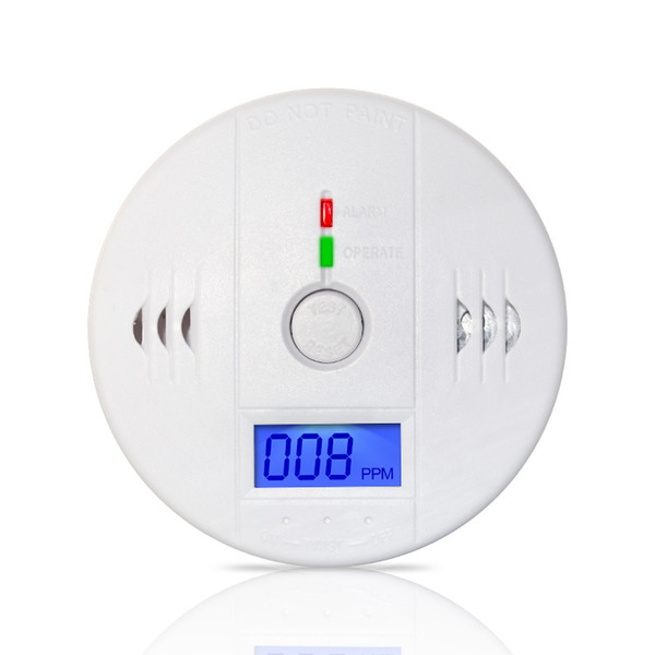 High Quality LCD Display Home Security Safety CO Carbon Monoxide Poisoning Smoke Gas Sensor Warning Alarm Detector Kitchen