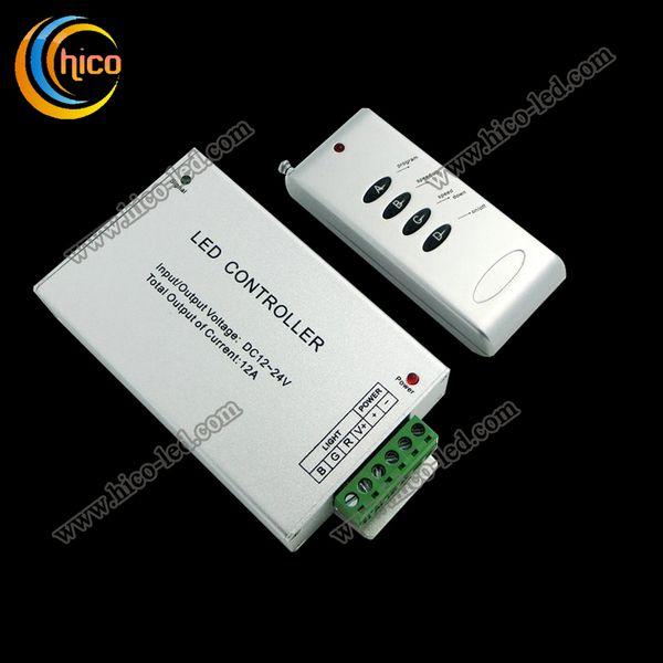 led controller DC12-24V 12A RF Remote RGB Controller for RGB strip light RGB module and led pixel light ceiling light spotlight