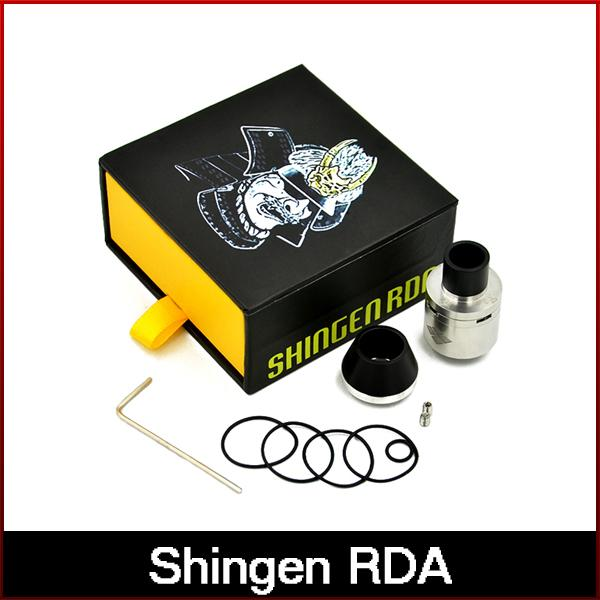2016 Newest Shingen RDA clone rebuildable atomizer vape stainless steel Vaporizer 510 thread rda tank DHL freeshipping