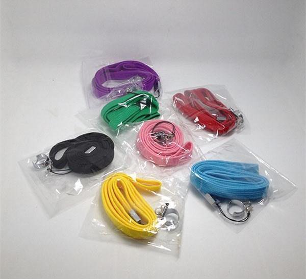 Collana eGo colorata di buona qualità Cordino EGO-T piacevole Corda Sospensione con anello d'acciaio per EGO-t ego-w ego Batteria