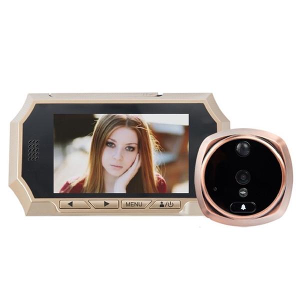4.3inch deurbel met camera door bell IR Night vision PIR Motion Sensor doorbell camera Photos Taking Video Recording Max 32GB