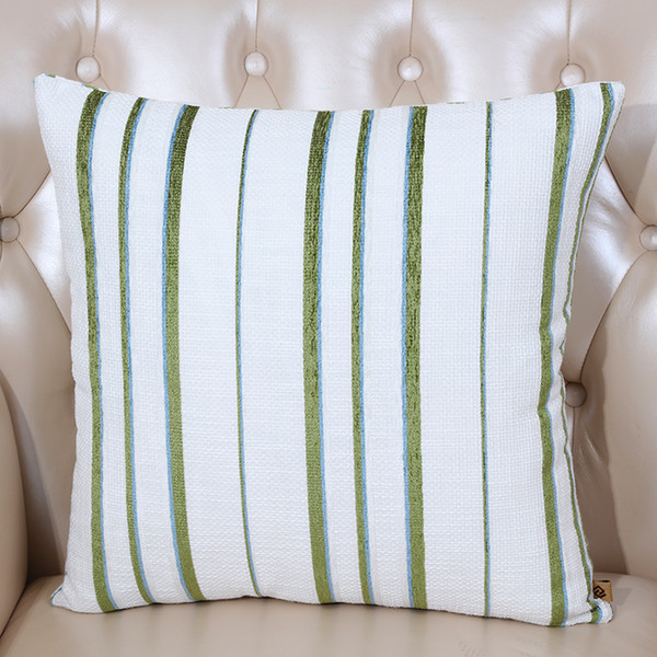 Cool Classic Stripe Linen Cushion Cover Merry Christmas Pillow Case Cotton Sofa Chair Covers Decorative Cushion Lumbar Support Pillow Deck Furniture Pabps2019 Chair Design Images Pabps2019Com