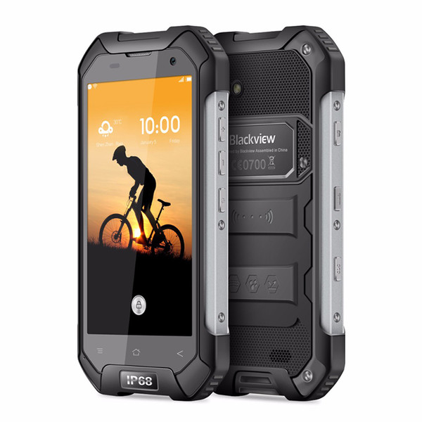 Blackview BV6000S Waterproof Mobile phone 4.7 inch MT6735 Quad Core Android 6.0 2GB RAM 16GB ROM 4G LTE Cell Phone