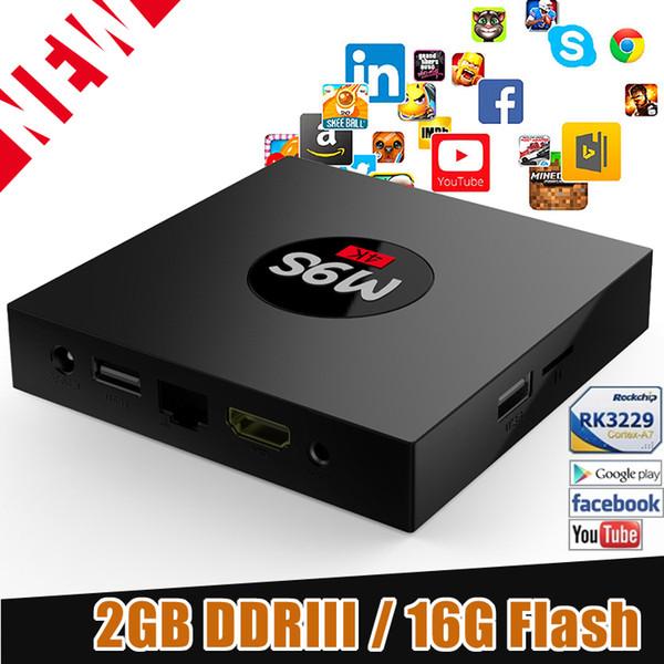 2GB 16GB TV Box M9S K3 Android 6.0 Rockchip Smart TV Box WiFi Bluetooth Media Player better than MXQ 4K rk3229