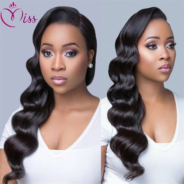 Natural Wave Guleless Full Lace Wigs Human Hair Lace Front Wigs Brazilian Human Hair Middle Part Bob Lace Wig