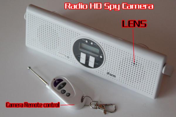 Großhandel Spion Kamera Im Badezimmer, Dusche Radio Hd Kamera 32gb ...
