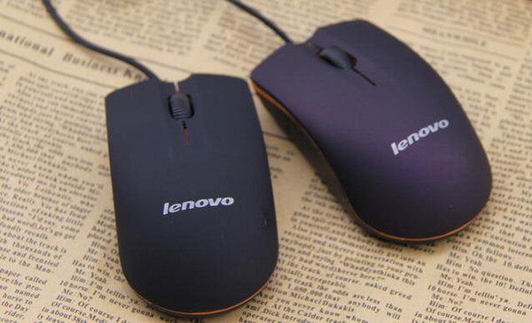 top popular Lenovo M20 Wired Mouse USB 2.0 Pro Gaming Mouse Optical Mice For Computer PC High Quality 2019