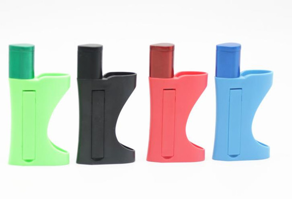 2017 New Portable Plastic Pipe Multi-function Removable Clip Lighters Metal Pipe