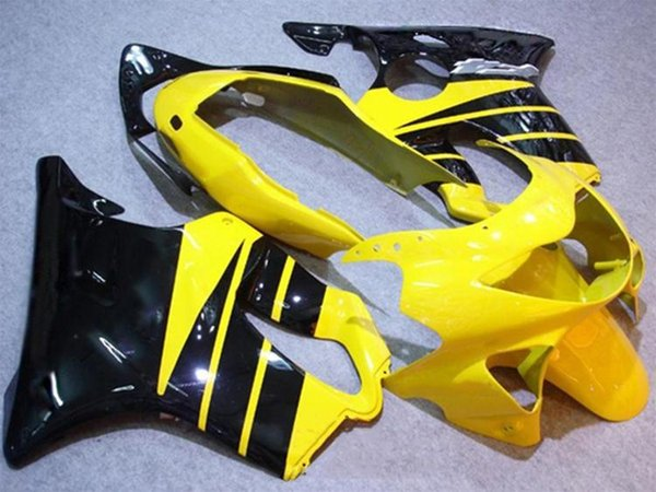 New 100% Fit Injection molding Fairing Set for HONDA CBR600F4 99-00 CBR 600 F4 FS CBR600FS CBR 600F4 F4 99 00 1999 2000 nice black yellow