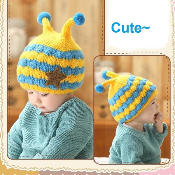 Cappelli per bambini Cappelli per cappelli per bambini Cappelli per cappelli a maglia per cappelli di lana per bambini 0-3 anni