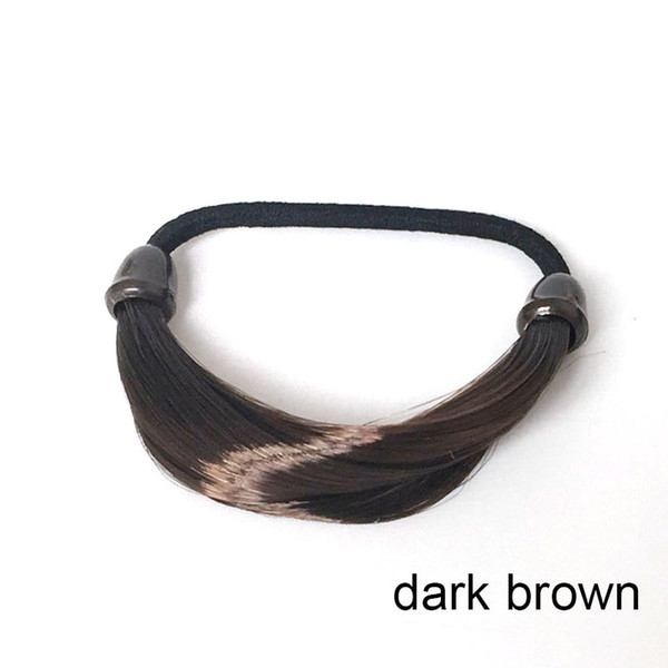 straight hair Dark Brown
