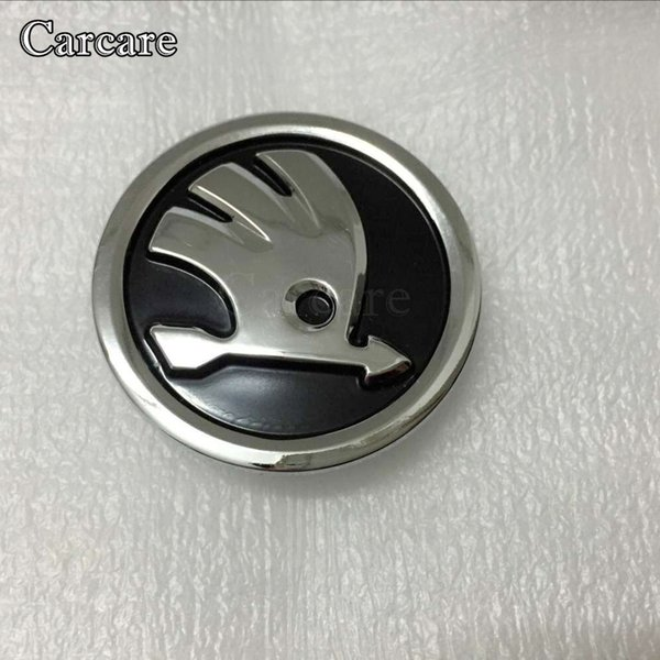 High Quality 1piece Car Airbag Cover Badge Emblem For Skoda Steering Wheel AirBag Cover Logo Free Shipping