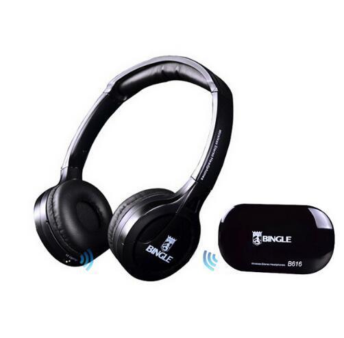 High Quality B616 Computer TV Earphone Multifunction Wireless Headset Headphone with FM Radio for MP3 PC TV Audio