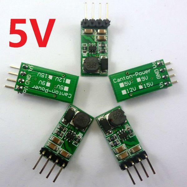 5x DC DC Aufwärts Boost Converter Modul 3V 3.3V 3.7V bis 5V Spannungsregler für Arduino Raspberry Pi 3 18650 Steckbrett