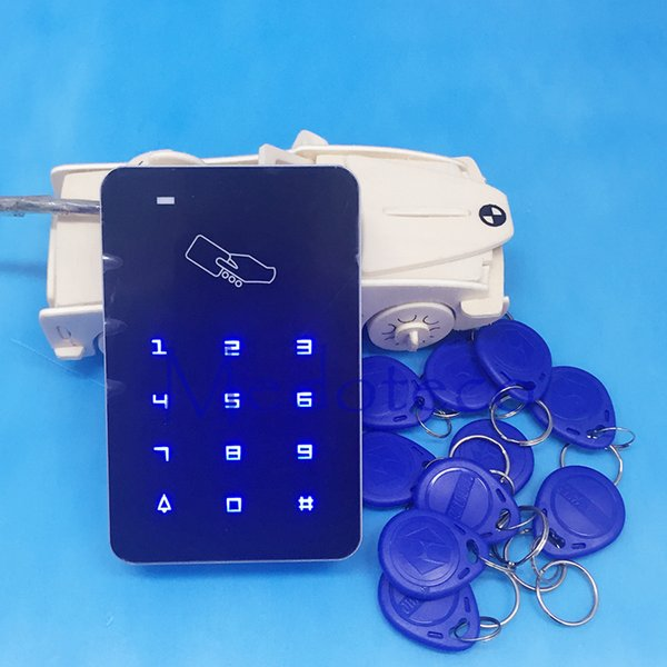 Free Shipping Hotsale 125khz touch keypad rfid Card access control EM card access contro wiegand 26 input function
