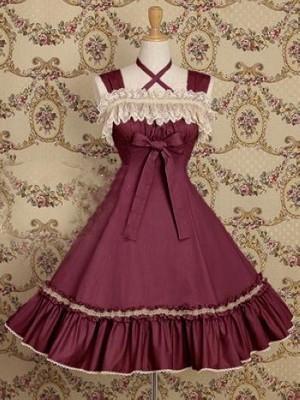 (LLT045) Lolita Vestidos Sem Mangas Doce Lolita Vestido Curto vestido de Baile Fantasia Prom Vestido de Festa de Halloween Traje de Máscaras
