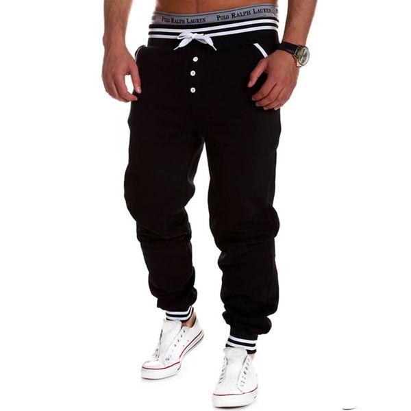 Toptan-Spor Giyim Erkek Casual Jogger Kaya erkek Harem Joggers Baggy Hip Hop Dans Jogger Spor Ter Pantolon Erkek Pantolon 01c0114
