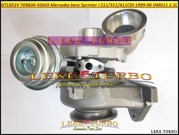 GT1852V 709836 778794 726698 778794-0001 726698-0001 726698-0002 726698-0003 Turbo For Mercedes benz Sprinter I 99-03 OM611 2.2L