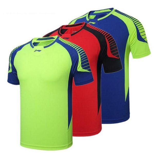 New Li-Ning badminton shirts,Men/women'scollar clothing blazer breathable quick-drying table tennis T-shirt shorts,badminton wear jersey