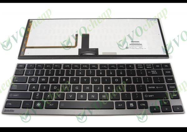 Nouveau clavier d'ordinateur portable américain pour Toshiba Satellite R700 U800 U800W U840 U845 U900 U920 U920 U925 U940 Z830 R830 Z935 avec rétro-éclairé