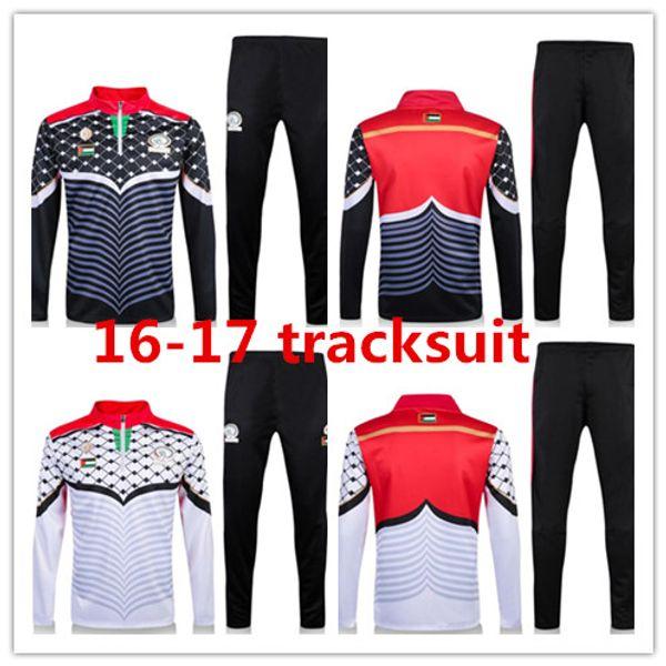 Camisolas de futebol Palestina camisola branca treino Sportswear formação Ternos mens Roupas Fatos de Treino Hoodies Masculinos ordem mix frete grátis