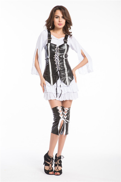pirate halloween costumes for adults coupons wholesale free pp punk pirate costume women adult