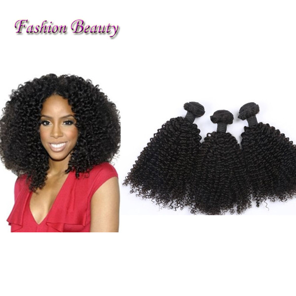 4Pcs Mongolian Brazilian Kinky Curly Hair Weave Bundles Afro Mongolian Kinky Curly Hair Extensions Brazilian Kinky Curly Hair Wefts