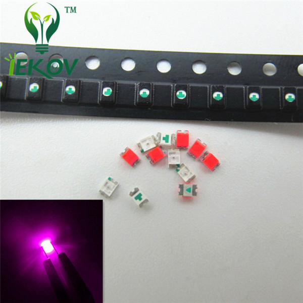 1000pcs 0805 SMD/SMT Pink High Quality LED 300-500mcd SMD Chip lamp beads Ultra Bright Light Emitting diode Suitable for DIY Car