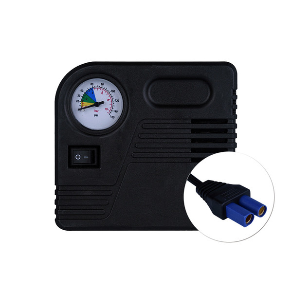 top popular Auto Car Emergency Starting Power EC5 Interface Inflator Durable Air Compressor Auto Tyre Pump 2021