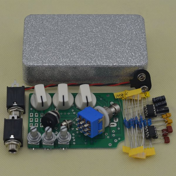 DIY Overdrive Guitar Effect Pedal True Bypass Electric guitar stompbox pedals OD2 Kits FS