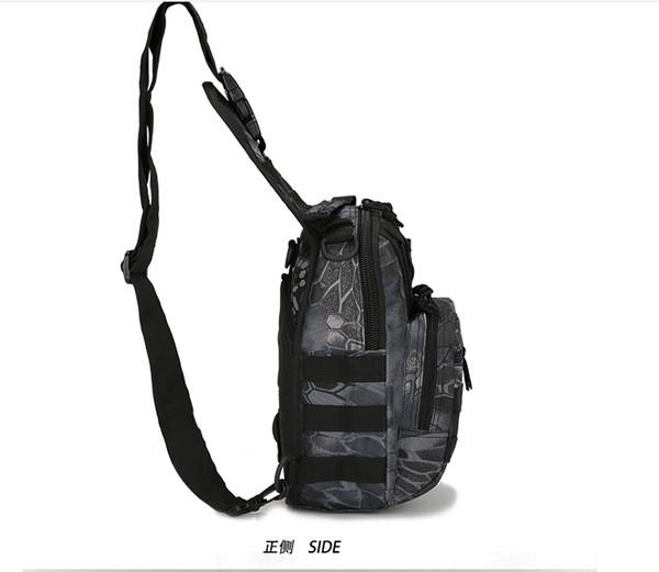 top popular New Arrival 600D Outdoor Sports Bag Shoulder Military Camping Hiking Bag Tactical Backpack Utility Camping Travel Hiking Trekking Bag 2019