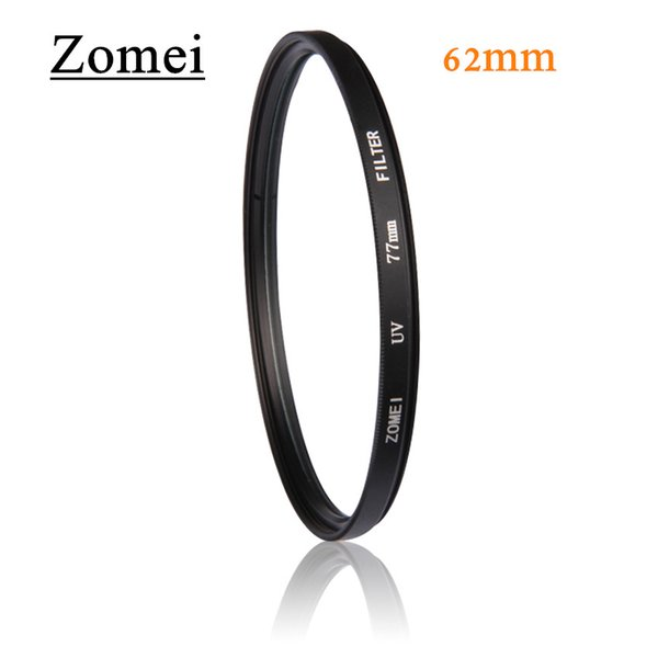 Professional Quality Ultrathin Zomei 62mm UV Filter Protector Filters Ultra Violet Filtro for Cancon Nikon Protect Camera Lens
