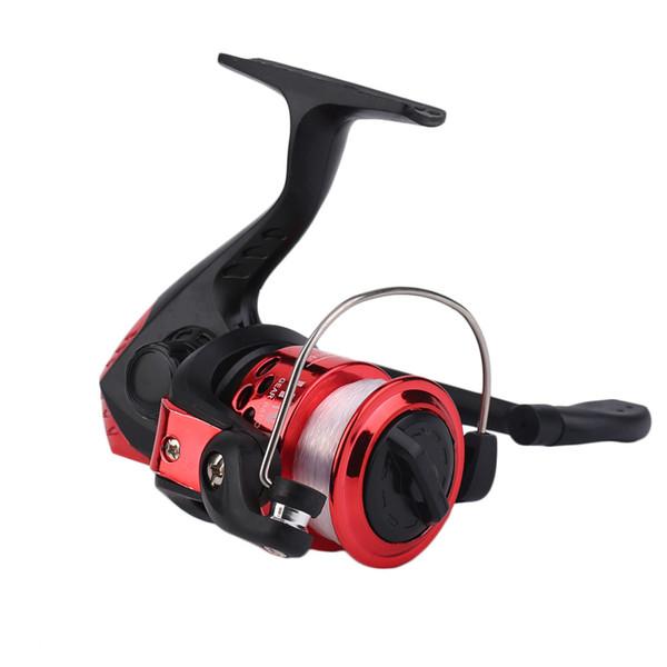 best selling Yumoshi JL200 Electroplating Fishing Reel Gear Ratio 5.1: 1 Spinning Reel With Fishing Line
