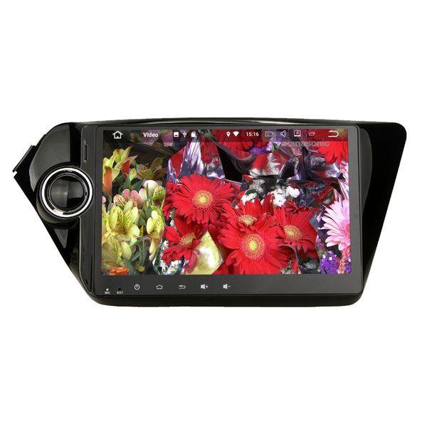 "9"" Android 7.1 System Car GPS Navi Radio For Kia K2 New Rio With 2G+16G RAM Quad Core WIFI 4G BT 4.0 Mirror Screen HDMI OBD DVR NO CAR DVD"