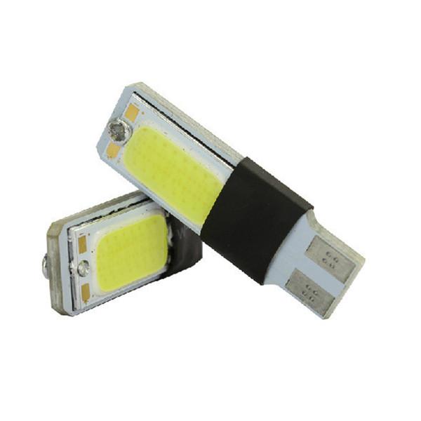 2Pcs T10 LED 194 168 W5W COB Ampoule intérieure Lumière Parking Freins de recul Lampes de frein de stationnement Canbus Aucune erreur Voitures xénon Auto Led Car-style commande $ 18no trac