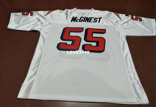 official photos 7dc74 832db 2018 Men Custom #55 Willie Mcginest Game Worn Jersey 1990 With Team Men  Football Jersey Size S 4xl Or Custom Any Name Or Number Jersey From  Love3740, ...