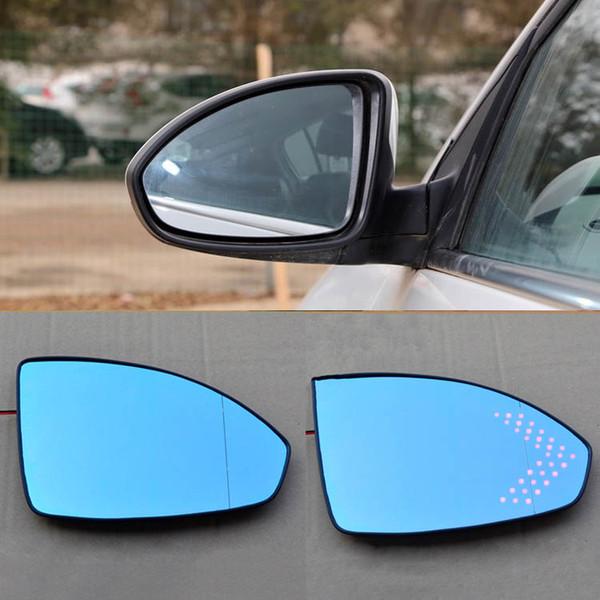 La voiture de HD met en miroir la direction bleue hyperbolique de miroir de la flèche LED de miroir d'angle pour la Chevrolet Cruze