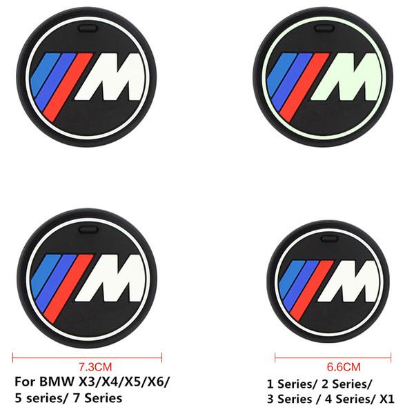 Alta qulaity sílica gel copo do carro anti-slip pad mat para bmw 1 3 5 7 série f30 f35 320li 316i 328 x1 x3 x5 x6 acessórios