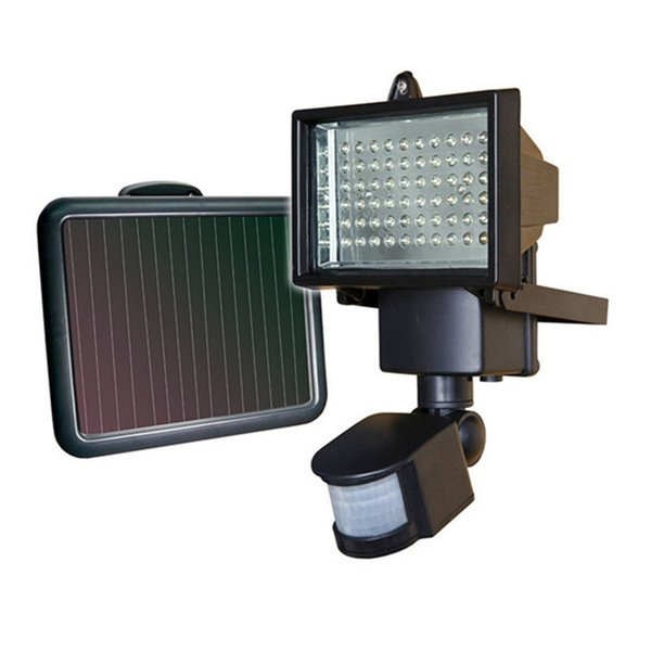 Sensor PIR Motion Led Floodlights Outdoor Led Solar Lights Waterproof Led Flood Lights 9V 10W Garden Lawn Light